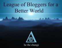 League of Bloggers for a Better World - logo