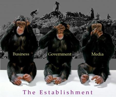 The Establishment vs The People