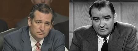 Ted Cruz and Joe McCarthy