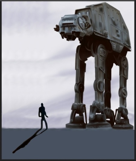 Dancing with an Imperial Walker